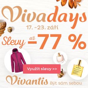 Vivadays - slevy až 77 %