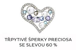 Výprodej šperků Preciosa