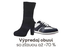 Výpredaj obuvi -70%