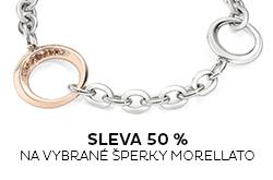 Sleva 50 % na šperky Morellato