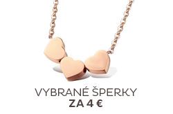 Šperky za 4 €