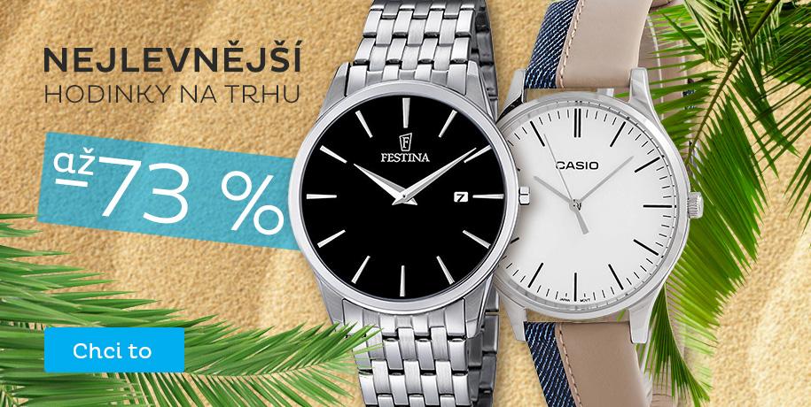 Nejlevnější hodinky na trhu