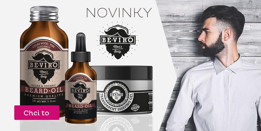 Kosmetika BE-VIRO novinka
