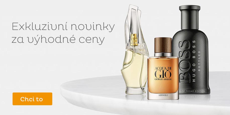 Parfémové novinky