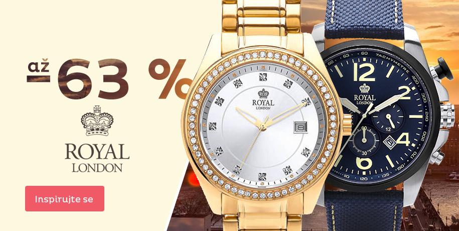 Akce na hodinky Royal London