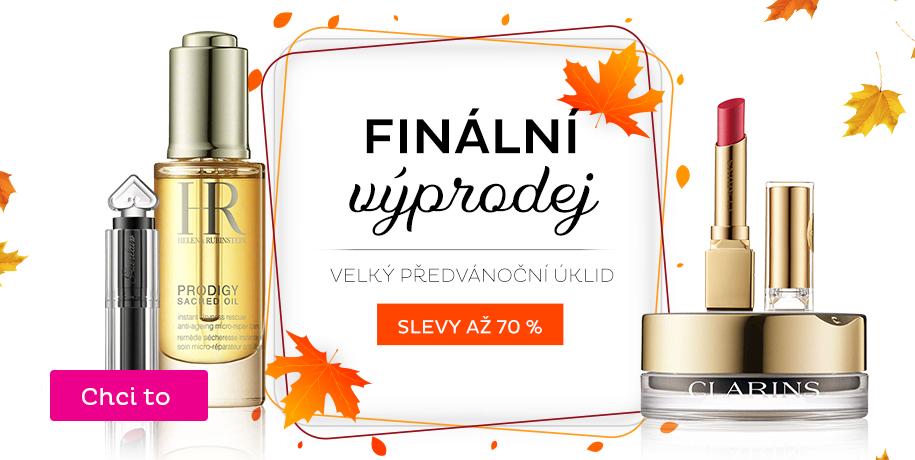 Podzimní výprodej kosmetiky