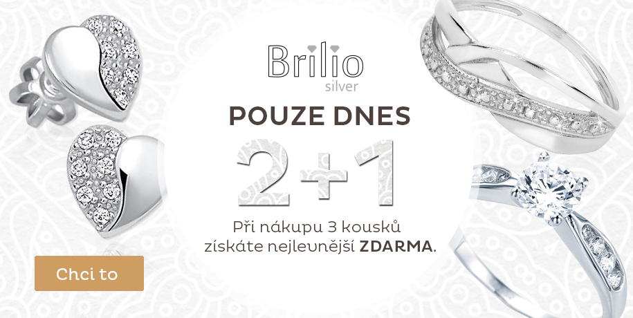 Brilio Silver 2 +1 ZDARMA
