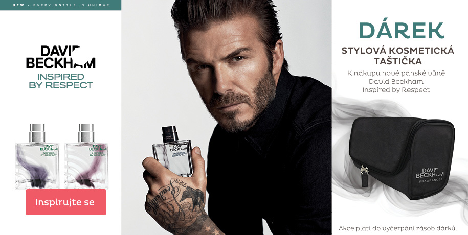 David Beckham + dárek