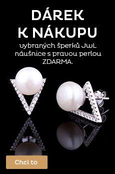 Dárek k nákupu z pravých perel