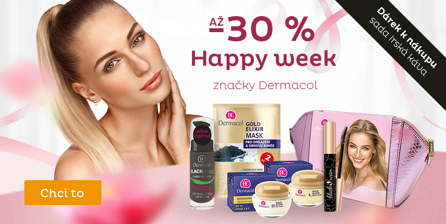 Dermacol Happy Week až - 30 %