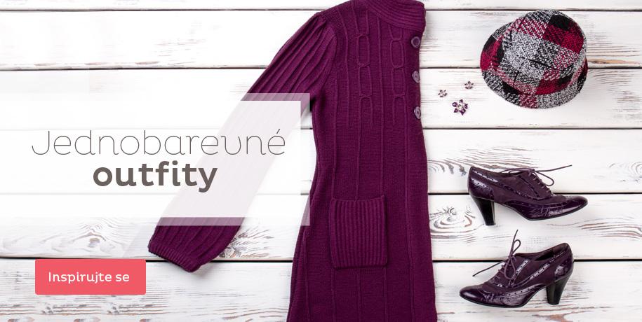 Tip stylistky: jednobarevné outfity