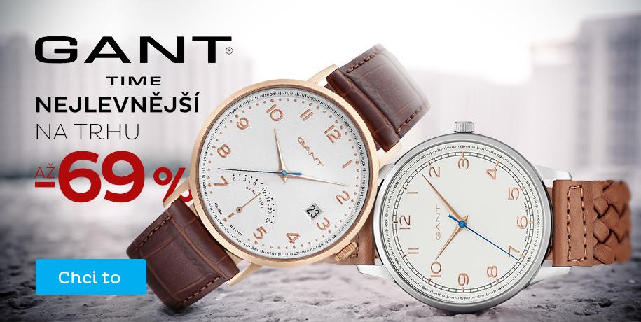 Hodinky Gant - nejlevnější na trhu