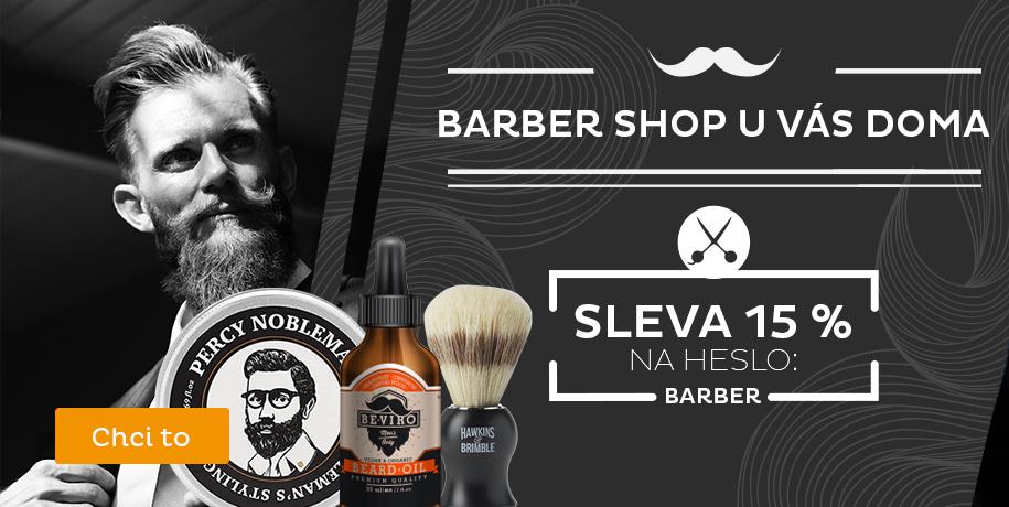 Sleva 15 % na Barber shop