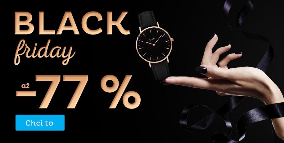 BLACK FRIDAY slevy až -77 %