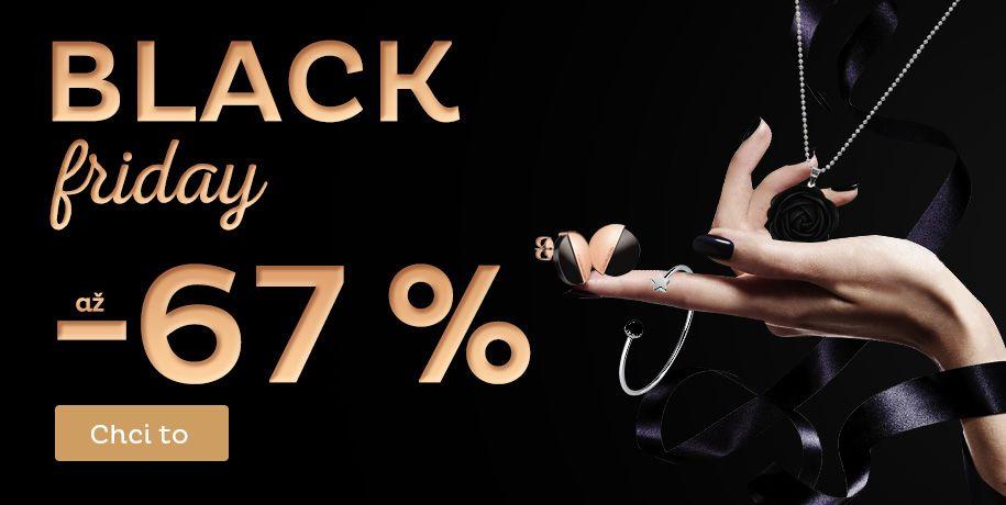Black Friday slevy až -67 %