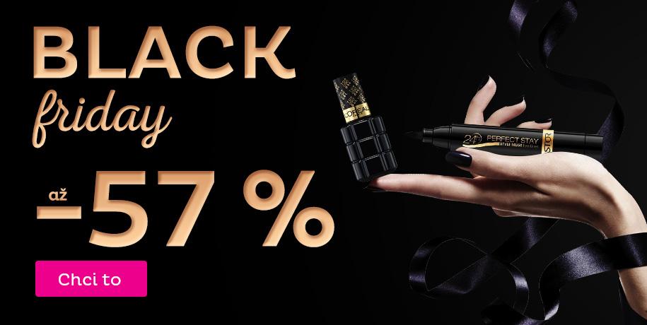 BLACK FRIDAY slevy až -57 %