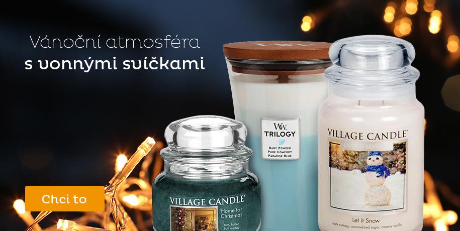Svíčky, vosky a difuzéry