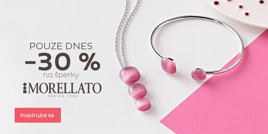 Šperky Morellato sleva 30 %