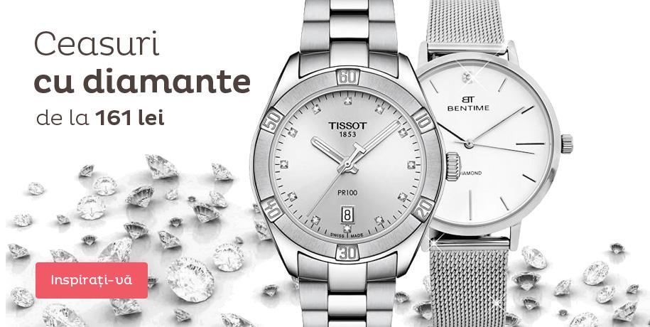 Ceasuri cu diamante