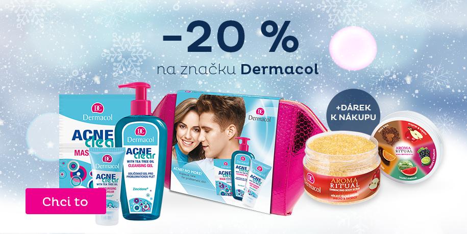 Dermacol -20 % +dárek