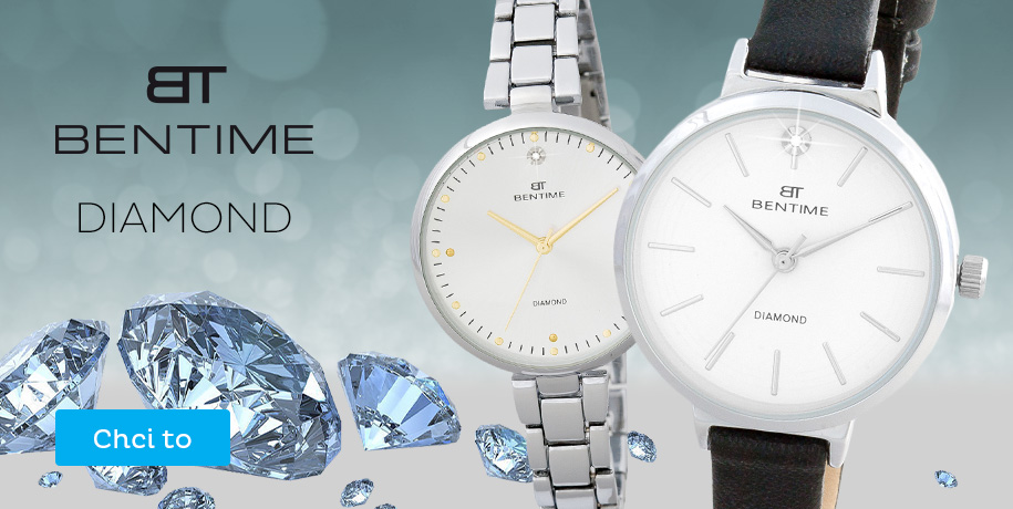 Novinky Bentime s diamanty