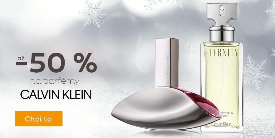 Až -50 % na Calvin Klein