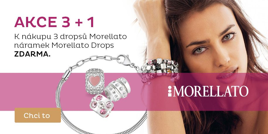 Dárek k nákupu Morellato Drops