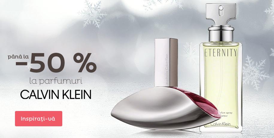 Calvin Klein reducere până la 50 %