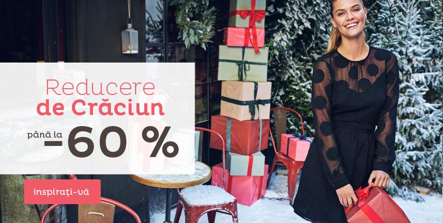 Reducere de Crăciun până la  -60 %