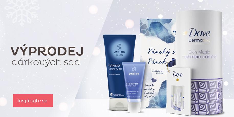 Výprodej kosmetických dárkových sad