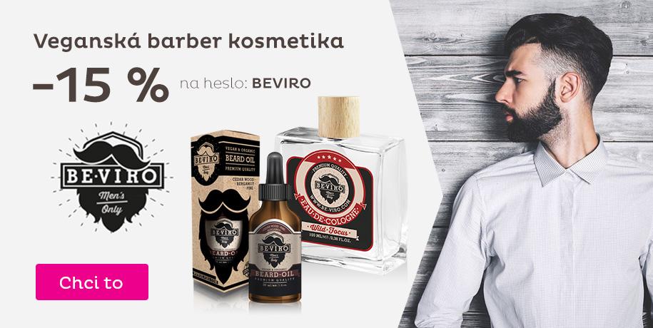 Veganská barber kosmetika -15 %