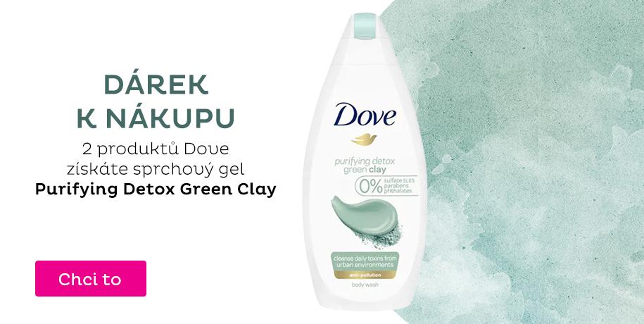 Dárek k nákupu 2 produktů Dove