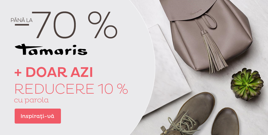 DOAR AZI: reducere 10 %