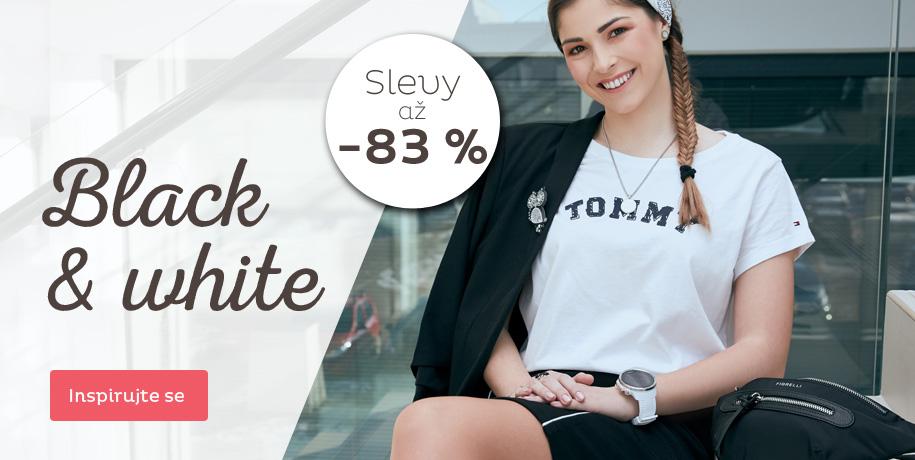 Black & White kousky se slevou až 83 %