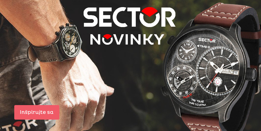Hodinky Sector - novinky