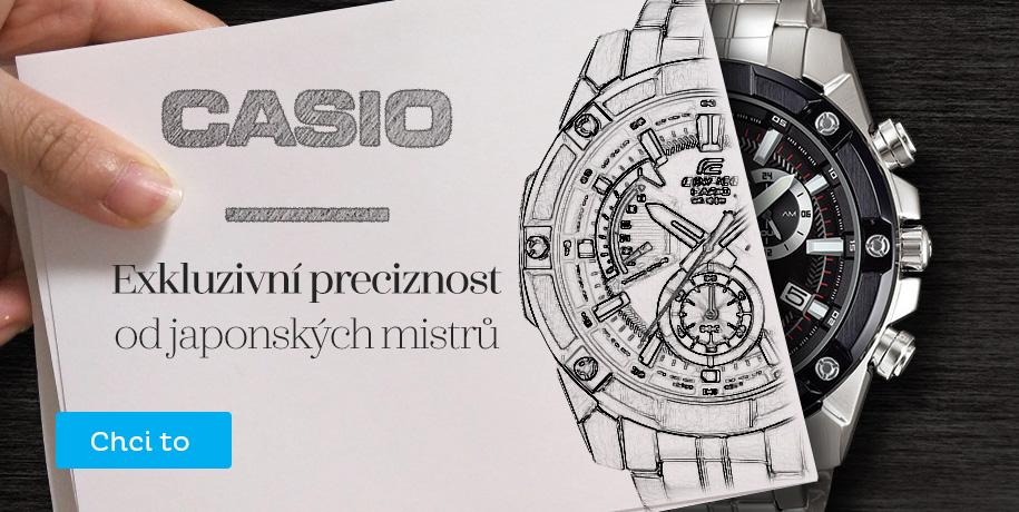 Casio - exkluzivní modely za exkluzivní ceny