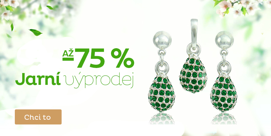 Jarní výprodej až -75 %