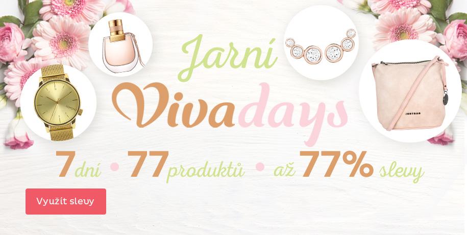 Jarní Vivadays - slevy až 77 %