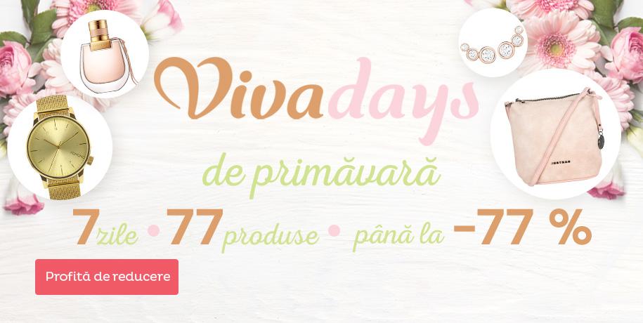 Vivadays reducere până la -77 %