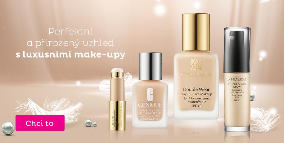 Luxusní make-upy