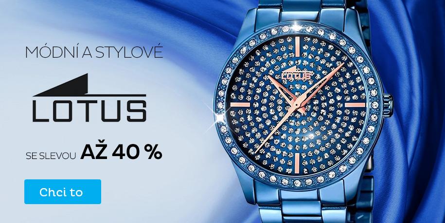 Lotus - sleva až 40 %