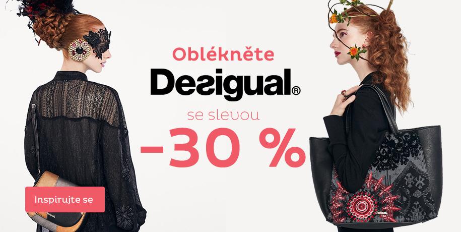 Oblékněte Desigual se slevou 30 %