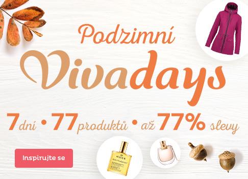 Podzimní Vivadays - slevy až 77 %