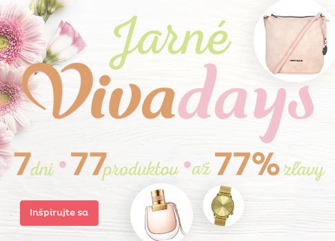 Vivadays - zľavy až 77 %