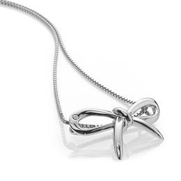 Hot Diamonds Strieborný náhrdelník Flourish