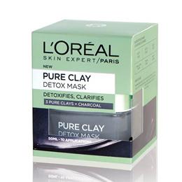 Loreal Paris Intenzivní čisticí rozjasňující maska Pure Clay