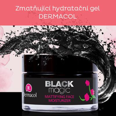 Zmatňující hydratační gel Black Magic (Mattifying Face Moisturizer) 50 ml