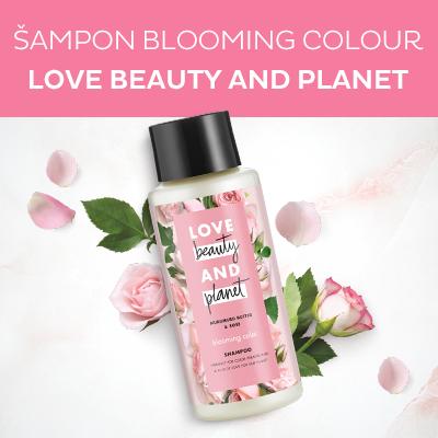 Šampon pro barvené vlasy s růžovým olejem a máslem muru muru (Blooming Colour Shampoo) 400 ml