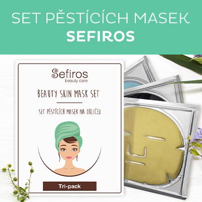 Set pěsticích masek na obličej (Beauty Skin Mask Set) 3 ks