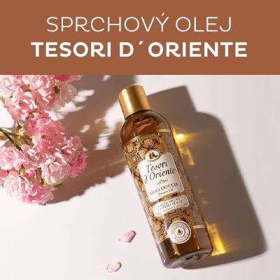 Sprchový Arganový a cyperový olej
